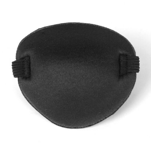 Black Child Kids Pirate Eye Patch Cover Mask Eyeshade Plain for Fancy Dress