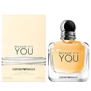 c3e0f50d1317 BECAUSE IT S YOU de EMPORIO ARMANI - Colonia   Perfume EDP 100 mL ...