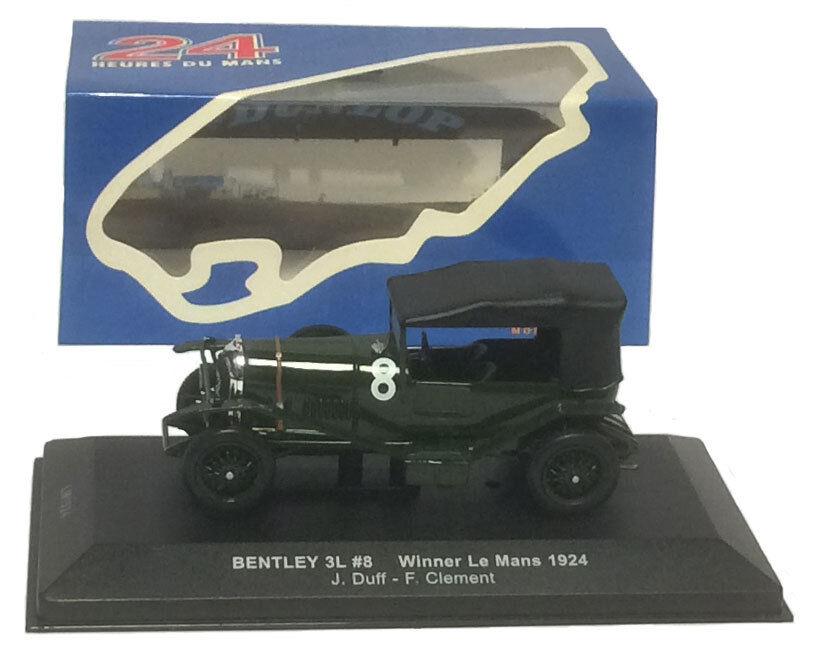 IXO LM1924 Bentley 3L Le Mans Winner 1924 - J Duff F Clement 1 43 Scale