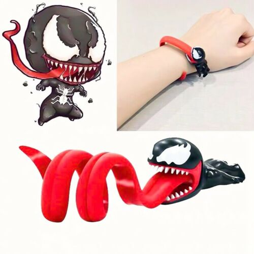 18cm Hand Toy Venom Data Line Charging Cable Winder Cartoon Toy Trend~