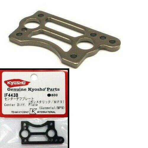 K23GH IF443B 7075 Piastra Differenziale Centrale HARD Kyosho MP9 MP10
