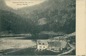 Ansichtskarte-Schiessrothried-Auberge-Frech-um-1900-Elsass