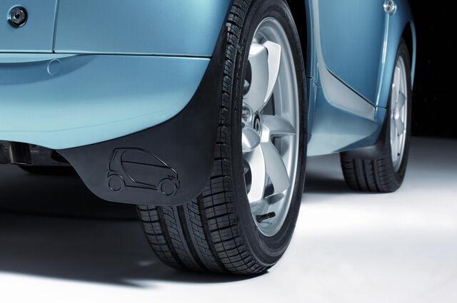 GENUINE OEM SMART CAR MUD FLAPS 8-12 FORTWO A451 C451