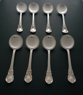 Lunt Sterling Eloquence Cream Soup Spoons