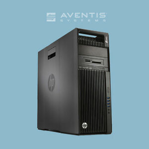 Details about HP Z440 Workstation Twr Xeon 6-Core 3 5GHz / 32GB /2x 500GB  SATA /Win 10 /1Yr