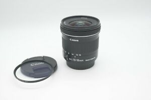 Canon EF-S 10-18mm f/4.5-5.6 IS STM MINT w/UV Filter Condition