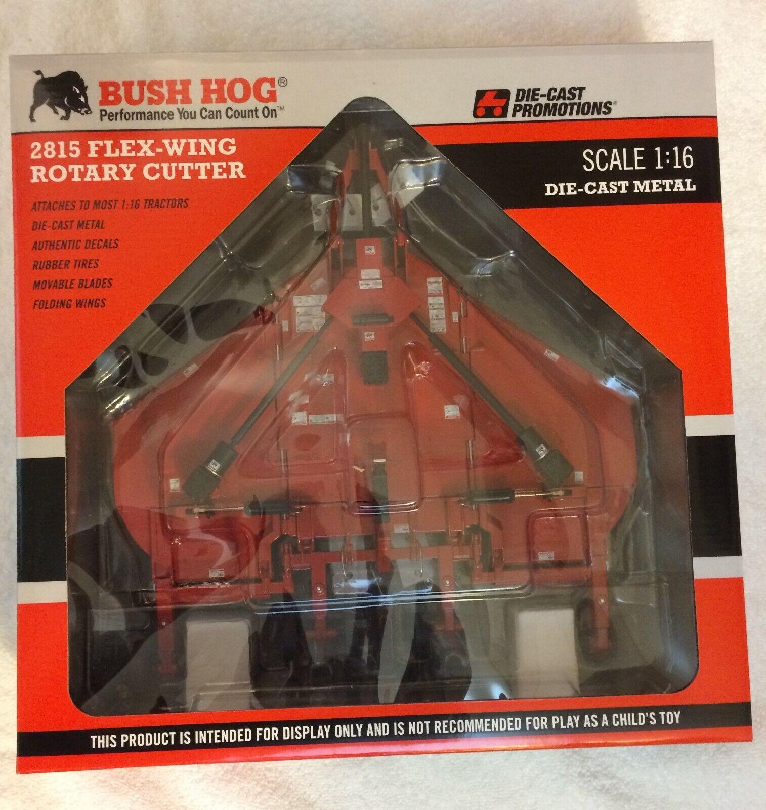 prezzo all'ingrosso e qualità affidabile autobush Hog Hog Hog 2815 1 16th Scale DieCast Flex Wing rossoary Cutter - unopened  migliori prezzi e stili più freschi