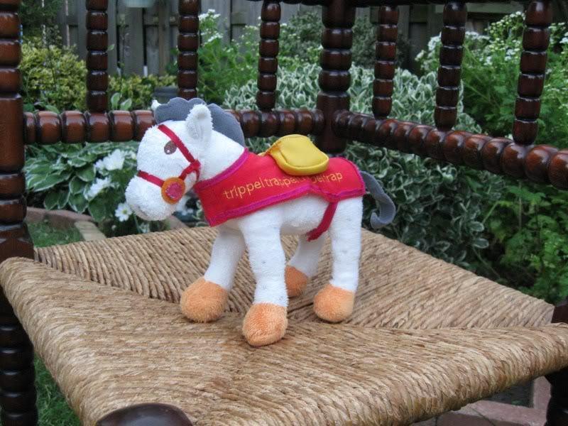 Dutch Holland SAINT NICHOLAS HORSE Stuffed Plush RARE Sinterklaas