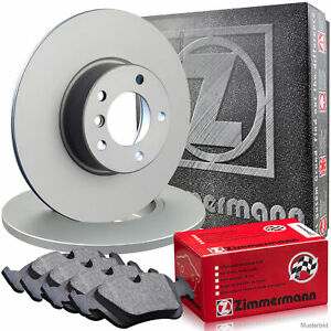 Beläge Wako Fiat Lancia vorne ZIMMERMANN Bremsen Kit SPORT Bremsscheiben