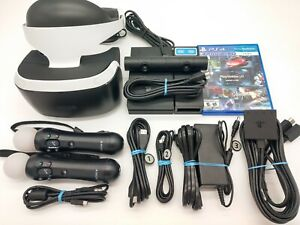 Playstation VR Bundle 2 Motion controllers with Ps4 Motion Cam (64534)