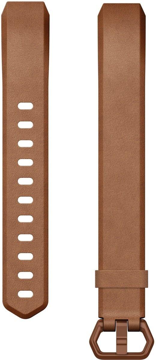 Fitbit alta sustitución HR HR HR - cambio pulsera cuero genuino marrón talla L nuevo embalaje original c96389