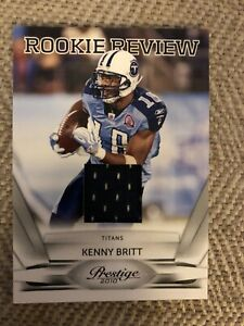 2010-Prestige-Rookie-Review-Tennessee-Titans-Football-Card-10-Kenny-Britt