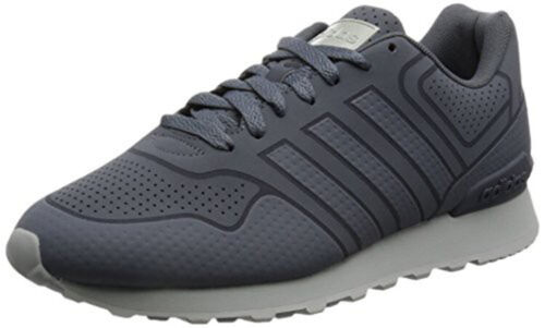 uk size 7 grey adidas 10k casual trainers aw5225