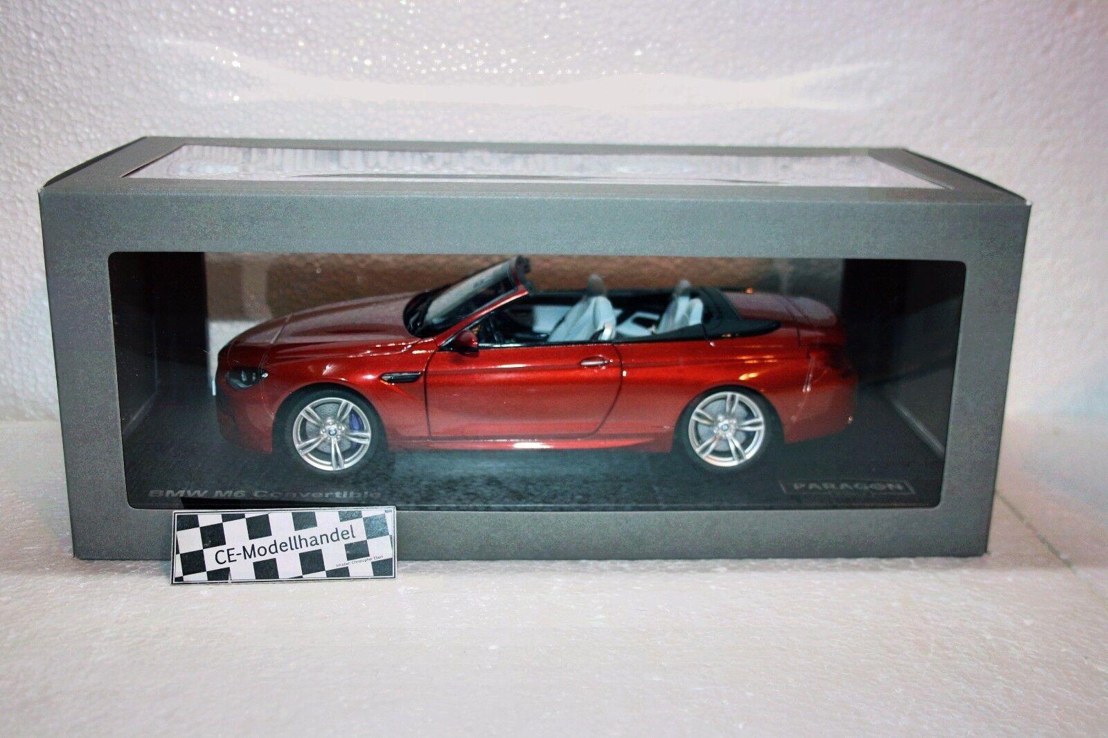 BMW m6 m6 m6 (f12) Cabriolet  NOUVEAU  Paragon  1 18 4afd89