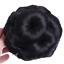 Female Wig Hair Ring Curly Bride Makeup Diamond Bun Flowers Chignon Hairpiece