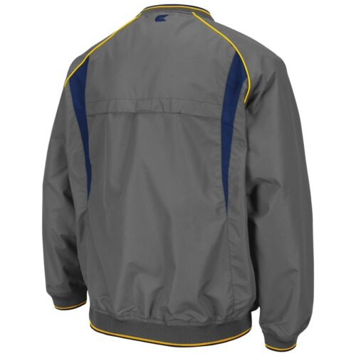Charcoal West Virginia Mountaineers NCAA 2014 Pitch Pullover Jacket