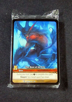 World of Warcraft WoW TCG Varimathras March of the Legion Promo Extended Art 1