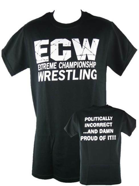 4850 T-Shirt ECW Politically Retro Bis 5XL