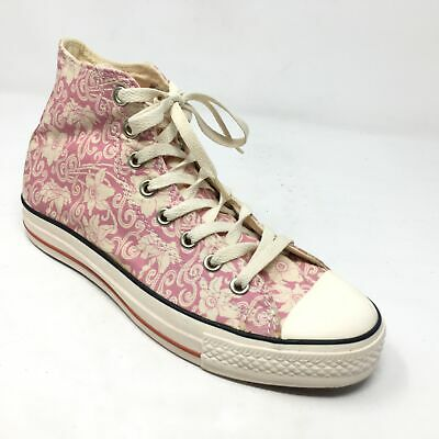 Women's NEW Converse All Star Retro High Top Shoes Sneaker Sz 9M Pink Floral H12 | eBay