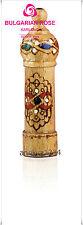 Bulgarian Rose Perfume Essence-Bulgarian Rose Oil- Small Wood Souvenir -  2ml