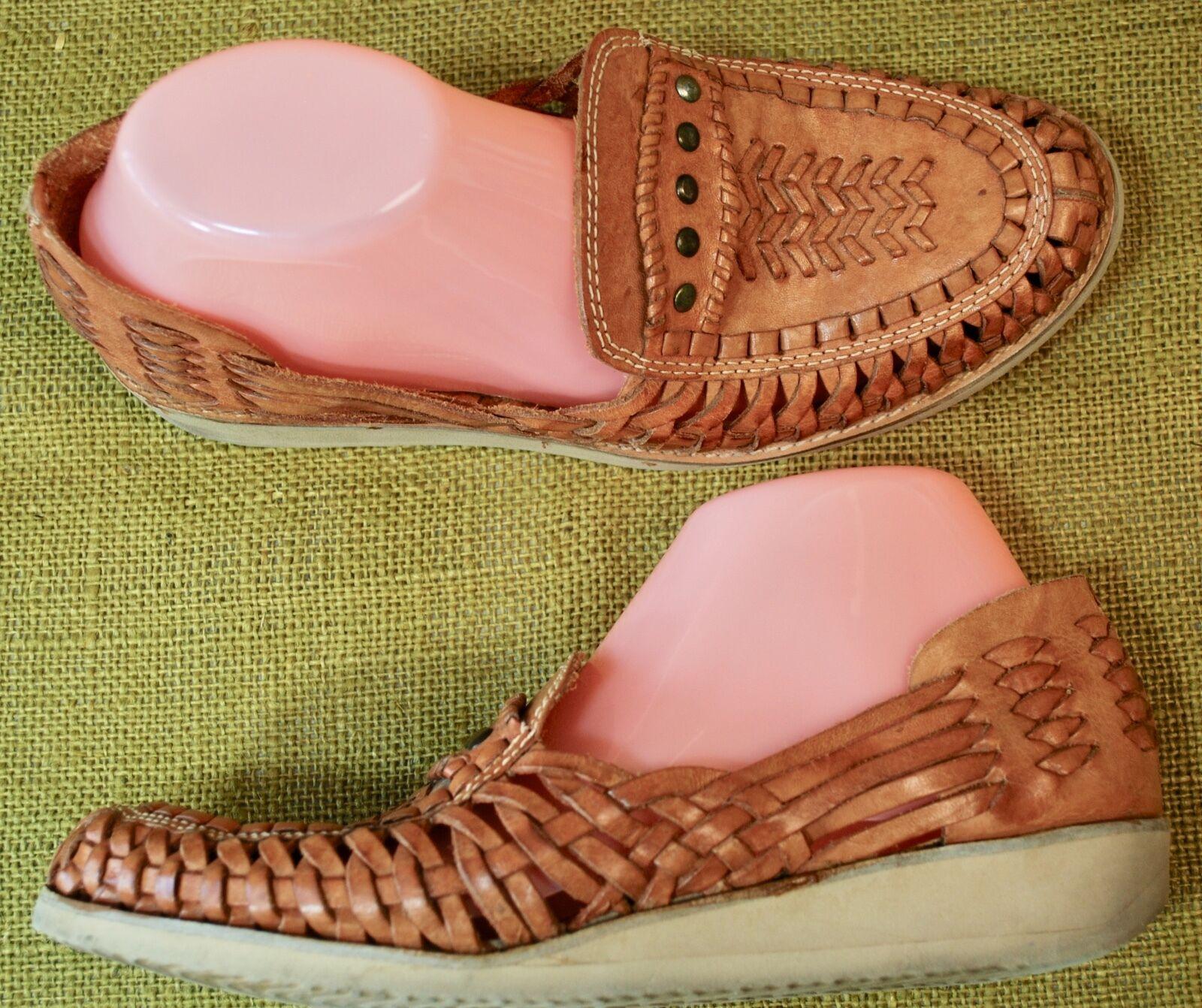 Deer Stags   Glen scarpe Co Slip On Loafers Braided Leather scarpe Uomo 7 D