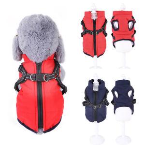 Pet-Puppy-Dog-Cat-Clothes-Autumn-Winter-Warm-Padded-Coat-Vest-Jacket-Apparel