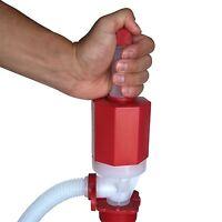 Heavy Duty Drum Barrel Manual High Speed Siphon Pump Draining Trasfer Gas Oils