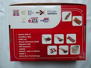 Serial-ATA-Espansore-Technologies-Fire-Wire-800-II-SCSI-USB-LAN-PSI-RS422-RS232