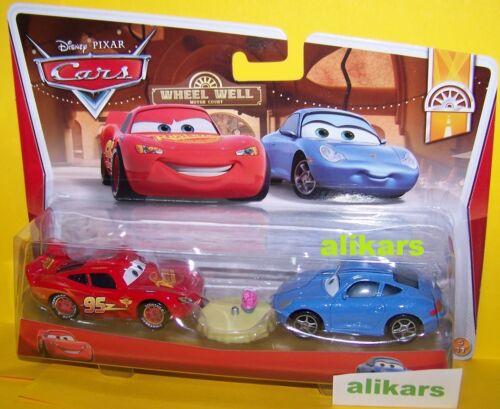 #5 Wheel Weel Motel Disney Cars B2 SALLY Hudson Hornet Piston Cup McQUEEN