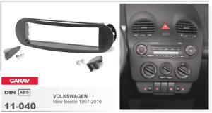 CARAV 11-040 1Din Marco Adaptador Kit de Radio VOLKSWAGEN New Beetle 1997-2010