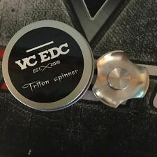 Stainless Triton Mini  VC EDC Spinner IN STOCK SHIPS FROM KY