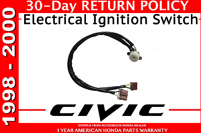 Dingln Electrical Ignition Switch 35130‑S04‑305 Accessory Fit for H-O-N-D-A C-I-V-I-C//A-C-U-R-A INTEGRA