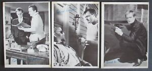 Man-From-Uncle-3-Trading-Card-Singles-25-38-54-Signature-Series-TCG-1965-EX-NM