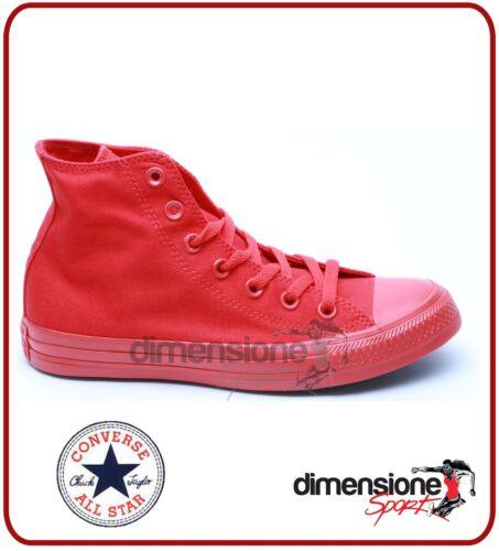 Monochrome Tg 152702c Converse Rosso Tela 8 All Scarpe Us Alte 5 Star Rosse 41 gTXqvT4c