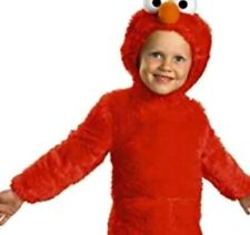SESAME STREET ELMO Faded TODDLER COSTUME ~ Halloween Party Supplies Jumpsuit Red