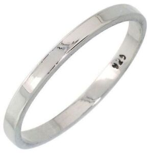 Handmade-925-Sterling-Silver-2-mm-Flat-Wedding-Band-Thumb-or-Midi-Ring-G-to-Z-1