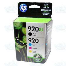3pk Genuine HP 920XL High Yield Color OfficeJet 6000 6500 7000 7500 Retail Box