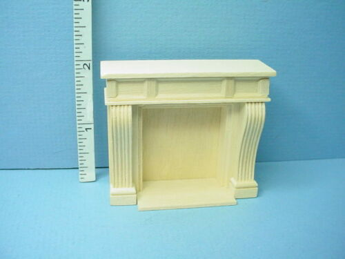 """1:24 Scale Miniature Orleans Fireplace #H2402 Houseworks1//2/"""""""
