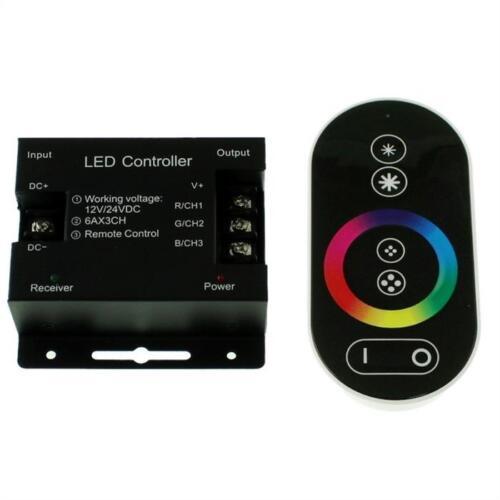 5-30m RGB LED Streifen Strip Leiste Band 12V 24V wählb Controller Netzteil