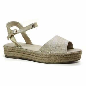 big sale buying new where can i buy Details about Ladies New Look Wedge Sandals Summer Espadrilles Shoes Womens  Size 8 *New*