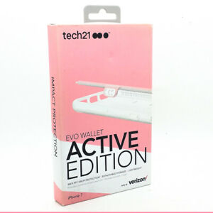Tech21-Evo-Wallet-Active-Edition-Drop-Protection-Case-Cover-For-iPhone-7-8-Pink