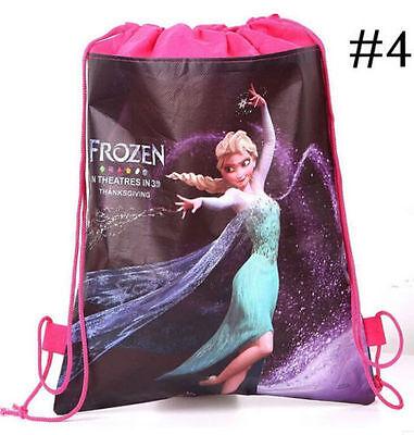 NEW Frozen Bag Princess Environmental Drawstring Swimming PE Toy For Disney