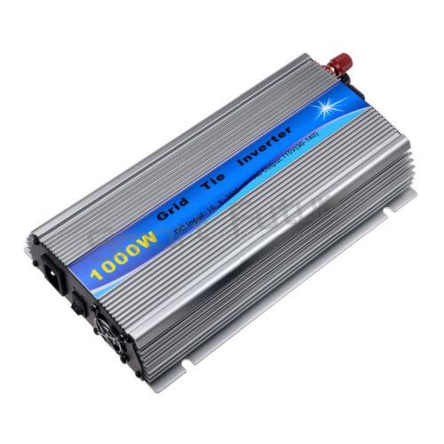 1000W Solar Grid Tie Micro Inverter DC10.8-30V to AV230V Pure Sine Wave Inverter