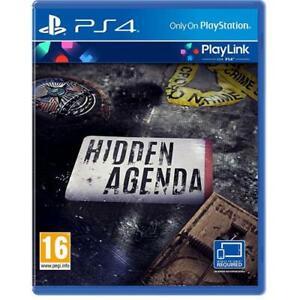 Hidden Agenda PS4 - Nuovo e Sigillato