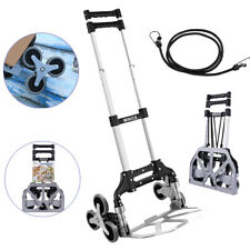 Winice Stair Climber Truck Portable Folding Trolley Adjustable Handle Cart Home