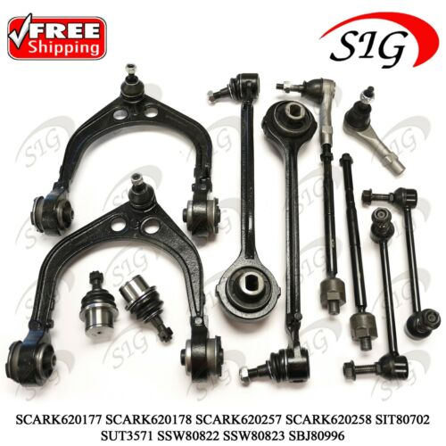 12Pc JPN Front Suspension Kit for Dodge Charger RWD 2006 2007 2008 2009 2010