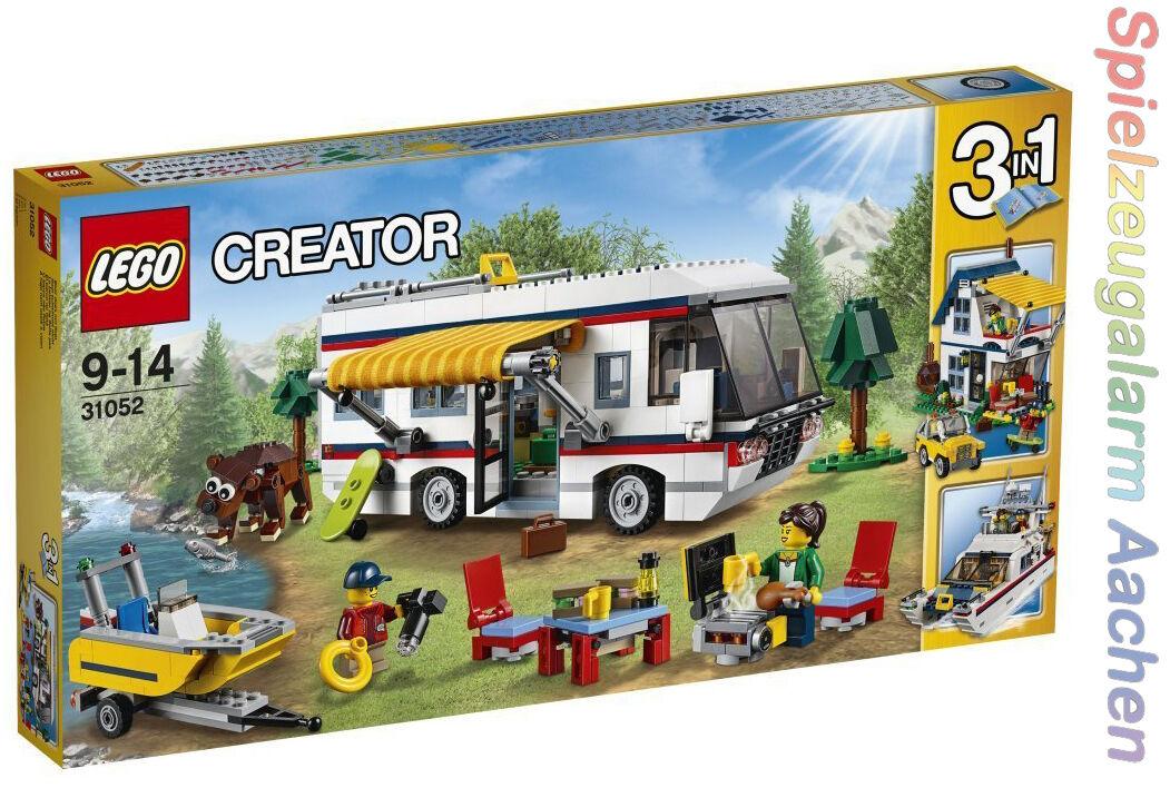 LEGO 31052 Creator vacanza viaggi Vacation getaways autoavana de  vacaciones NUOVO  vendita con alto sconto