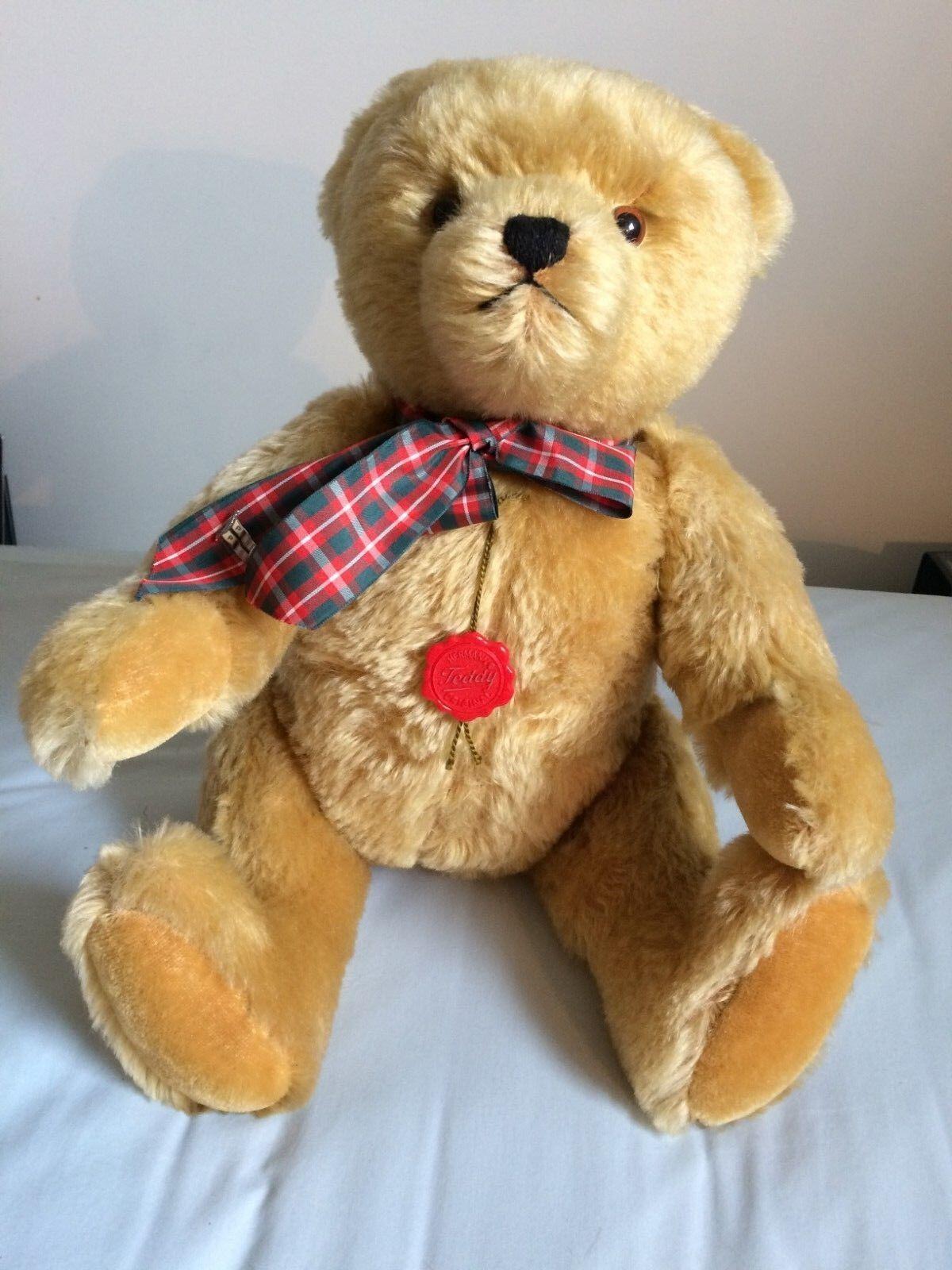 Hermann Teddy Teddy Teddy Bear D-96112 HIRSCHAID 8d2d0c