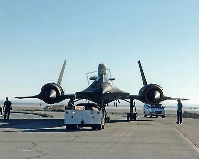 "Lower Price with Sr-71 ""blackbird"" Is Being Towed To Its Hangar 12x18 Photograph Nasa D"