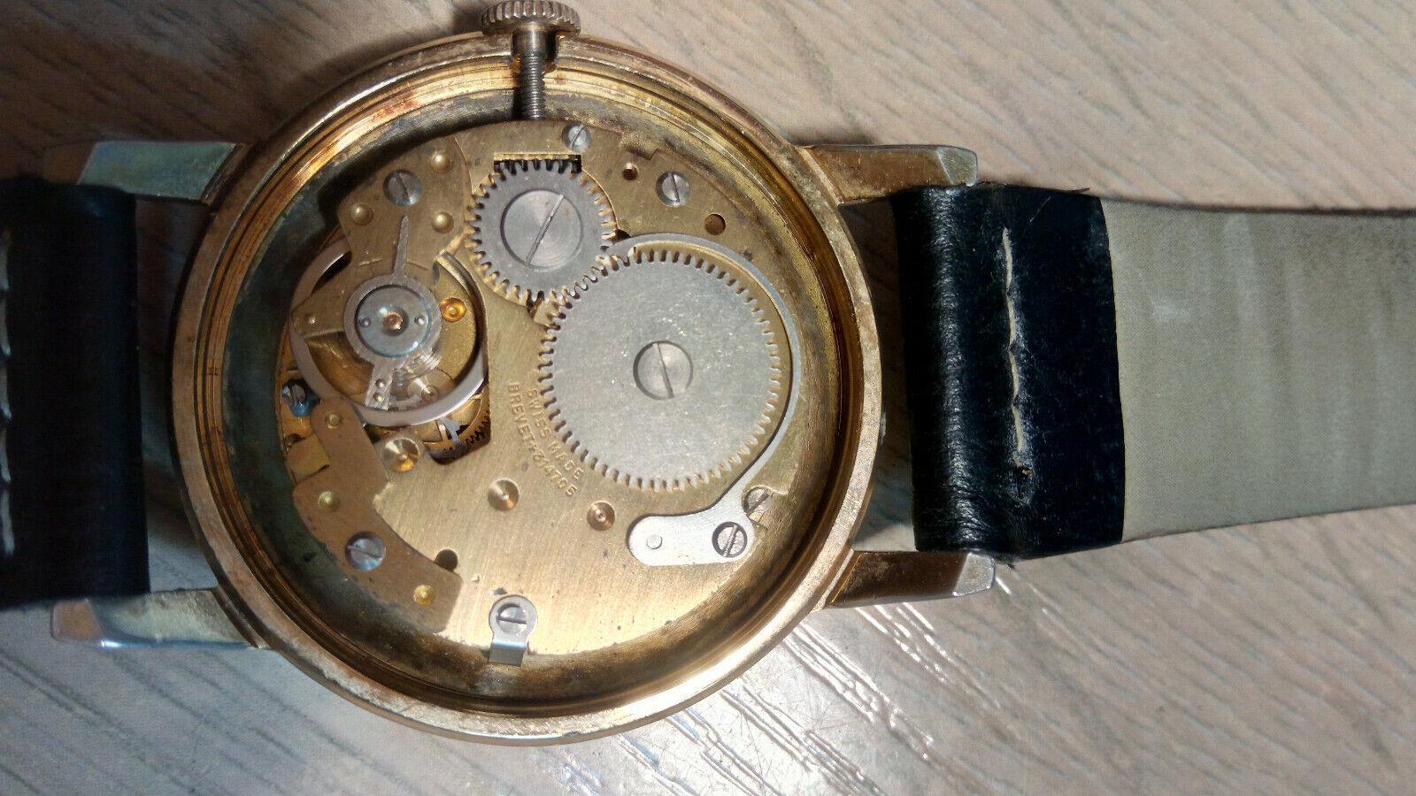 Davar De Luxe – vintage men's wristwatch – 1960s.… - image 6